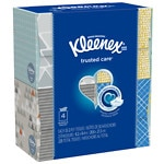 Kleenex Facial Tissue Upright 4 pack- 220 ea