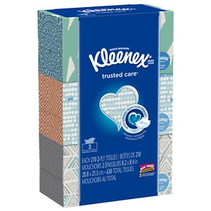 Kleenex Facial Tissue White, 3 pk