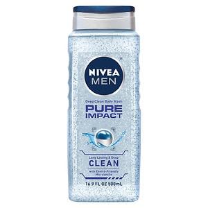 Nivea Men 3-in-1 Body Wash, Pure Impact