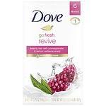 Dove go fresh Beauty Bar, Revive, 6 pk- 4 oz