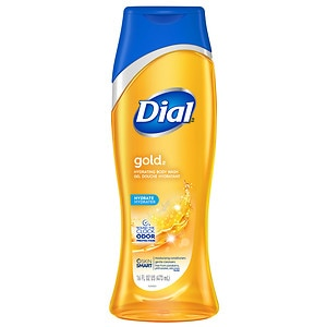 Dial Body Wash, Removes Bacteria, Gold