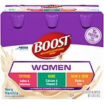 Boost Calorie Smart Balanced Nutritional Drink, Vanilla, 8 oz Bottles, 6 pk- 8 oz