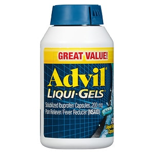 Advil Pain Reliever/Fever Reducer Liqui-Gels- 200 ea