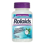 Rolaids Ultra Strength Tablets, Mint