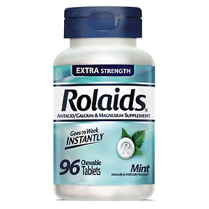 Rolaids Extra Strength Tablets, Mint- 96 ea