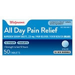 Walgreens All Day Pain Relief Tablets- 50 ea