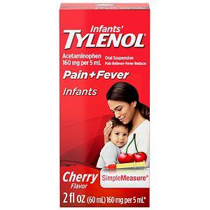 Infants' TYLENOL Acetaminophen Oral Suspension, Cherry- 2 oz