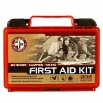 Be Smart Get Prepared Outdoor First Aid Kit, 202 Pieces