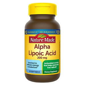 Nature Made Alpha Lipoic Acid 200mg, Softgels- 30 ea