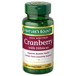 Nature's Bounty Dual Spectrum Cranberry with Hibiscus- 60 ea