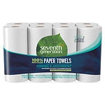 Seventh Generation Paper Towels Jumbo Rolls, 8 pk- 156 sh