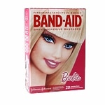 Band-Aid Adhesive Bandages, Barbie- 20 ea