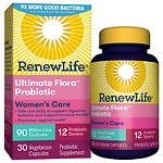 ReNew Life Ultimate Flora Women's Complete 90 Billion, Capsules- 30 ea