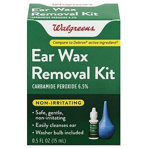 Walgreens Ear Wax Removal Kit- .5 fl oz