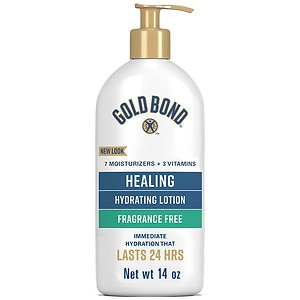 Gold Bond Ultimate Healing Skin Therapy Lotion, Fragrance Free