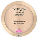 Neutrogena Mineral Sheers Loose Powder Foundation, Classic Ivory 10- .19 oz