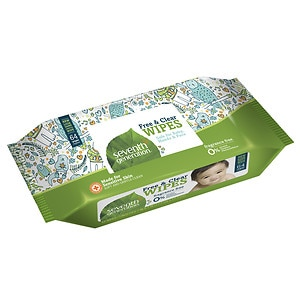 Seventh Generation Free & Clear Baby Wipes, 12 pk, Free & Clear