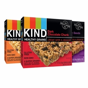 KIND Healthy Grains Granola Bars, Variety Pack, 15 pk