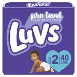 Luvs with Ultra Leakguards, Size 2 Diapers- 40 ea