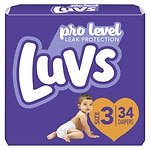 Luvs with Ultra Leakguards, Size 3 Diapers