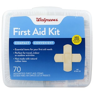 Walgreens First Aid Kit, Compact