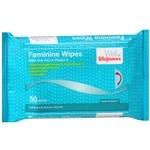 Walgreens Feminine Wipes, Refill- 50 ea