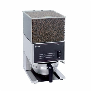 Bunn LPG Low Profile Portion Control Grinder with 1 Hopper