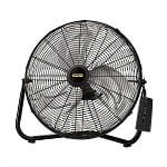 Lasko 655650 Stanley Remote Control 20 in High Velocity Floor Fan