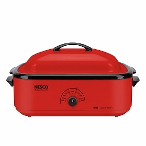 Nesco 4818 12 18 Quart Roaster Oven, Red
