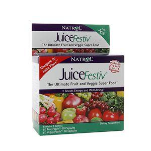 Natrol JuiceFestiv Ultimate Fruit & Veggie Super Food