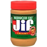 Jif Peanut Butter, Reduced Fat, Creamy- 16 oz
