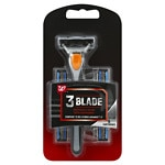 Studio 35 For Men Triple Blade Razor- 1 ea