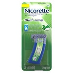 Nicorette Mini Lozenge, 2 mg, Mint
