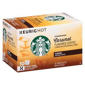Starbucks K-Cups, Caramel, 10 pk, .37 oz