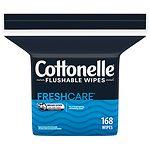 Cottonelle Fresh Care Flushable Moist Wipes Refill- 168 ea