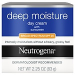 Neutrogena Deep Moisture Day Cream with Sunscreen Broad Spectrum SPF 20- 3.25 oz