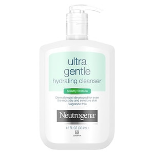 Neutrogena Ultra Gentle Hydrating Cleanser, Creamy Formula