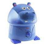 Crane USA Ultrasonic Cool Mist Humidifier Hippo, Periwinkle- 1 ea