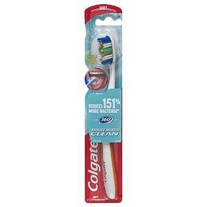 Colgate 360 Full Head Toothbrush, Soft