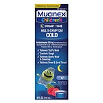 Children's Mucinex Night Time Multi-Symptom Cold Liquid- 4 fl oz