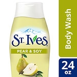 St. Ives Refresh and Revive Body Wash,, Pear & Soy