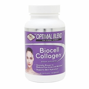 Olympian Labs Optimal Blend BioCell Collagen, Capsules, 60 ea