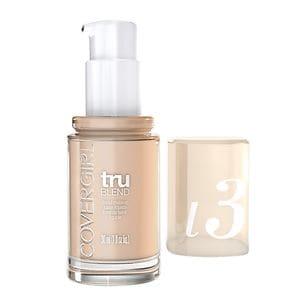 CoverGirl TruBlend Liquid Makeup, Natural Ivory L3- 1 fl oz