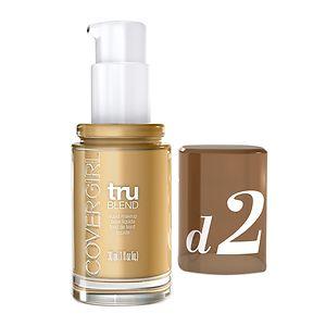CoverGirl TruBlend Liquid Makeup, Sun Beige D2- 1 fl oz
