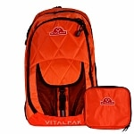 VitalPak Medical Backpack with Removable, Snap-in Essentials Kit,