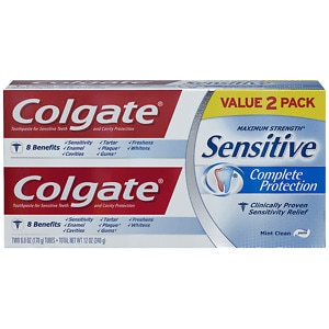 Colgate Sensitive Complete Protection Toothpaste, 2 pk