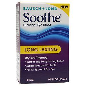 Bausch + Lomb Lubricant Eye Drops, Long Lasting