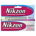 Nikzon Hemorrhoidal Anorectal Cream- .9 oz