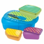 Sassy On-the-Go Feeding Set- 1 ea