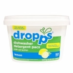 Dropps Dishwasher Detergent Pacs, 50ct, Lemon- 50 Each
